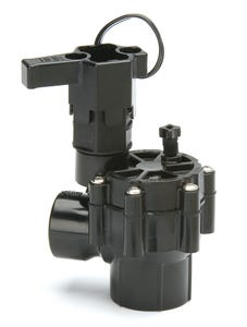 100DVA - 1 in. DV Series Inline Plastic Residential Irrigation Valve - Angle Configuration