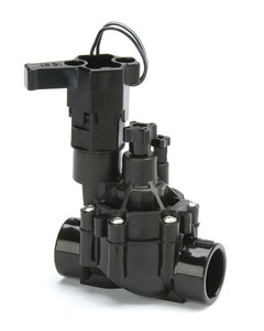 100DVFSS - 1 in. DVF Series Inline Plastic Residential Irrigation Valve with Flow Control - Slip x Slip