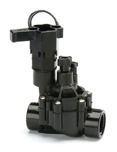 100DVF - 1 in. DVF Series Inline Plastic Residential Irrigation Valve with Flow Control- Female Pipe Thread