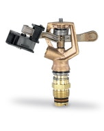 """14VH 1/2"""" Inlet Full Circle Brass Wedge Drive Impact Sprinkler, No Nozzle"""