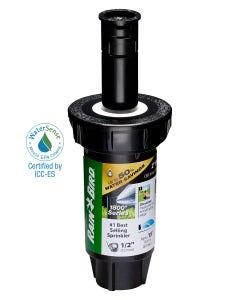 1802QDSPRS - 2 in Pop-up Spray Head - Quarter Pattern Dual Spray (90°) 15 ft Range with Pressure Regulator