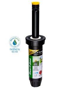 1804AP4PRS - 4 in Pop-up Spray Head - Adjustable Pattern (0 - 360°) 4 ft Range with Pressure Regulator