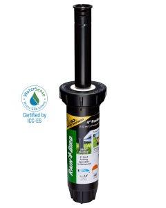 1804HDSP25 - 4 in Pop-up Spray Head - Half Pattern Dual Spray (180°) 15 ft Range with Pressure Regulator