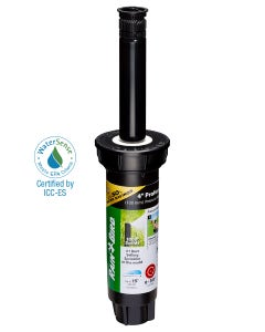 1804HV15PR - 4 in Pop-up Spray Head - High-Efficiency Variable Arc (0-360°) 15 ft Range with Pressure Regulator