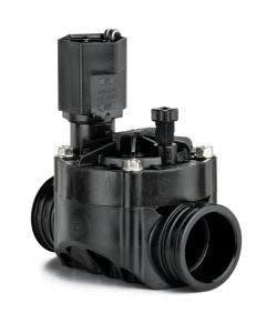 100HV9V SS - 1 in. HV Series 9 Volt Inline Sprinkler Valve - Slip x Slip