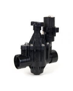 100PGA - 1 in. Inlet Inline Plastic Residential/Commercial Irrigation Valve