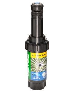 12SAF20 - 2 inch Mini Rotor Pop-Up Sprinkler - Full-Circle Spray Pattern (360 Degree), 13' - 18' Spray Distance