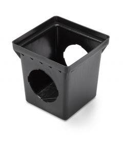 DB12S2 - 12 Inch Square Drainage Catch Basin - 2 Outlets
