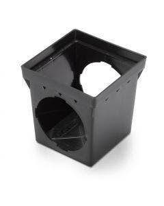 DB9S2 - 9 Inch Square Drainage Catch Basin - 2 Outlets