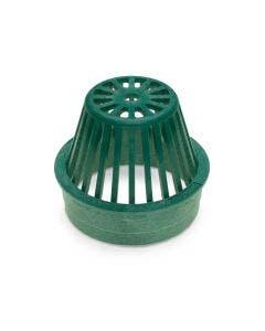 DG6RAG - 6 inch Plastic Round Atrium Drainage Grate - Green