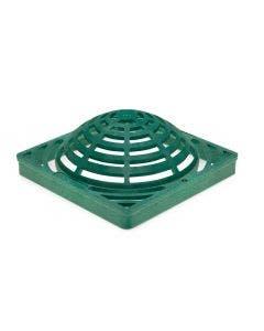 DG9SAG - 9 inch Plastic Square Atrium Drainage Grate - Green