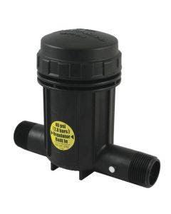 PRB100 - 1 in. Pressure Regulating Basket Filter