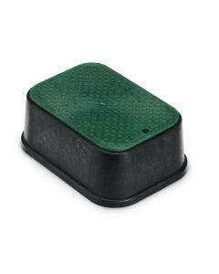 PVBSTDEXT - 6 in. PVB Standard Valve Box Extension - Black Body & Overlapping Green Lid