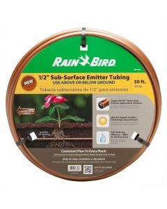 1/2 in Sub-Surface Drip Emitter Tubing (50 foot coil)