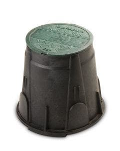 VB7RND - 7 in. Round Valve Box - Green Lid