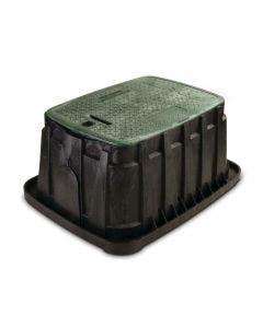 VBJMB - Jumbo Valve Box - Green Lid