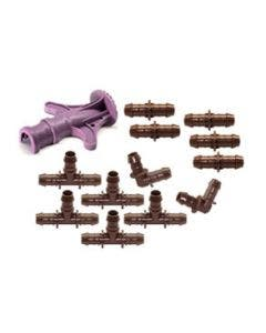 XFFCOMBOPK - XF 17mm Fittings Combo Pack with XF Insertion Tool