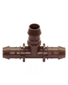 XFFTEE - Barb Tee Adapter - 17mm  x 17mm x 17mm