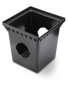 DB18S2 - 18 Inch Square Drainage Catch Basin - 2 Outlets