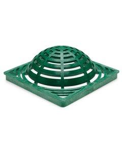 DG12SAG - 12 inch Plastic Square Atrium Drainage Grate - Green