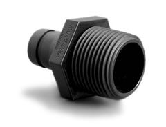 MDCF75MPT - Easy Fit Compression Fitting System - 3/4 in. Male Pipe Thread Adapter