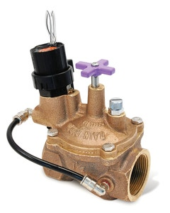 100EFBCP - 1 in. Brass Irrigation Valve