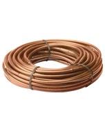 "ET256-50SX - Drip Irrigation 1/4"" Emitter Tubing, 6"" Spacing, 0.8 GPH, 50' Roll, Brown"