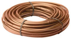 "ET256-50SX - Drip Irrigation 1/4"" Emitter Tubing, 6"" Spacing, 0.8 GPH, 50' Roll, Brown"