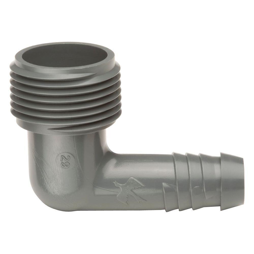 16 mm pour SPX Flex Jardin Irrigation Rain Bird SBE-050 Coude Raccord de Tuyau avec Filetage ext/érieur 1//2 10 pi/èces Coude 1//2-16 mm
