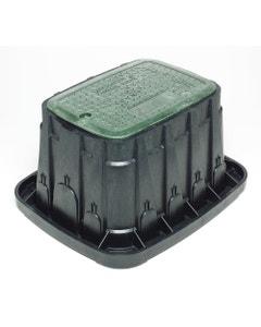 VBSTDH - Standard Valve Box - Green Lid & Lock