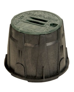 VB10RNDH - 10 in. Round Valve Box - Green Lid & Lock