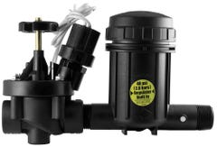 XCZ100PRBLC - Wide Flow Light Commercial Control Zone Kit with 1 in. PEB Valve and 1 in. Pressure Regulating (40 psi) Basket Filter