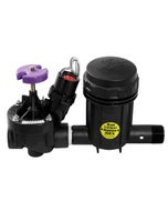 XCZ100PRBR - Wide Flow Commercial Control Zone Kit with 1 in. PESB-R Valve and 1 in.  Pressure Regulating (40 psi) Basket Filter