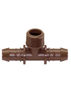 XFFTMA050 - XF Tee Male Adapter - 17mm x 17 mm x 1/2 in. MPT
